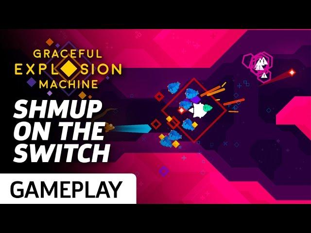 Graceful Explosion Machine Gameplay: A Colorful Shoot-em-up On Switch