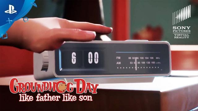 Groundhog Day: Like Father Like Son - Launch Trailer | PS VR