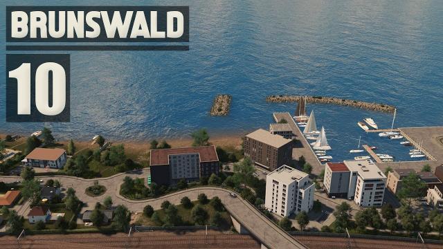 Small Port & Seaside Mansions - Cities Skylines: Brunswald - 10