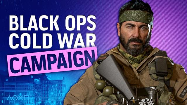 Call Of Duty:  Black Ops - Cold War | PS5 campaign gameplay