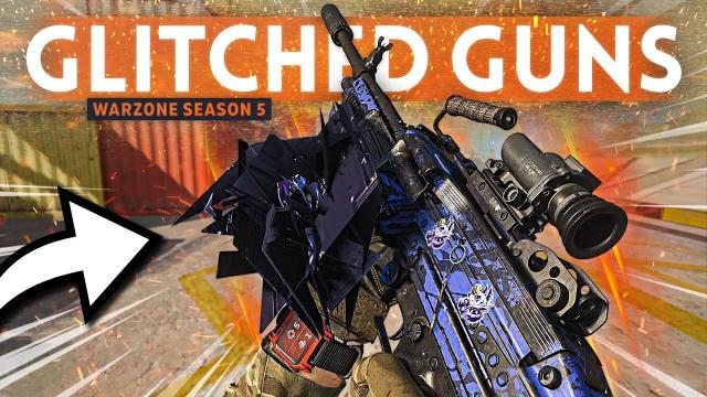Warzone is COMPLETELY BROKEN - New Graphical Gun Glitch is ruining matches!