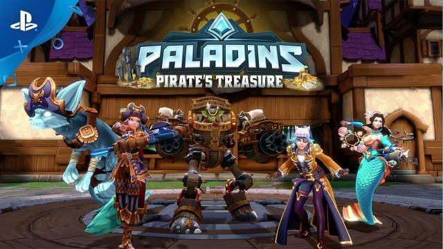 Paladins - Pirate's Treasure Battle Pass | PS4