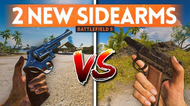 NEW PACIFIC SIDEARMS: Type 94 Nambu + Model 27 Revolver - Are They Good? ???? Battlefield 5 (New Gun