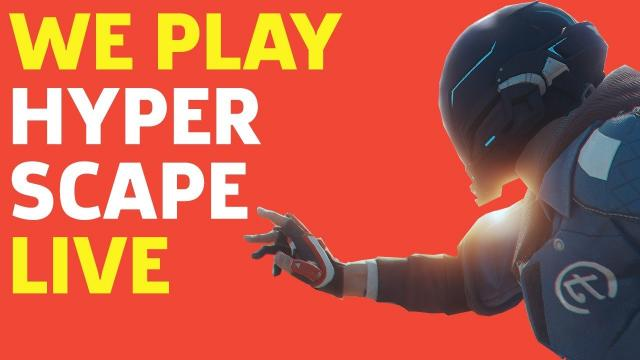 We Play Ubisoft's New BR Hyper Scape Live