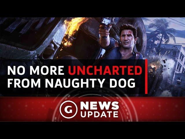 Don't Expect Naughty Dog To Make Uncharted 5 - GS News Update