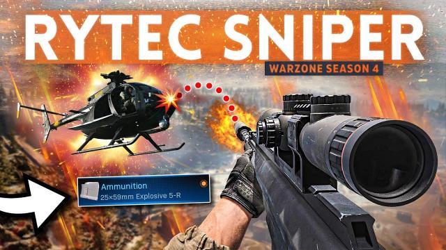 NEW RYTEC Sniper is BROKEN in Warzone... but it's still so SATISFYING!