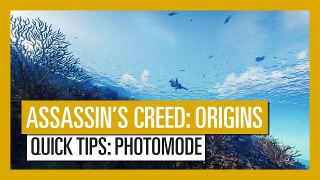 Assassin's Creed Origins - Quick Tips: Photomode