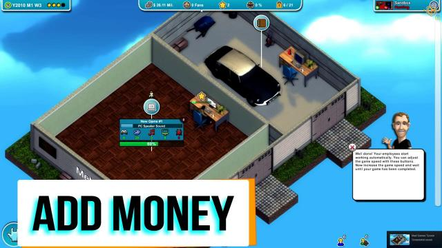 Mad Games Tycoon Trainer +3
