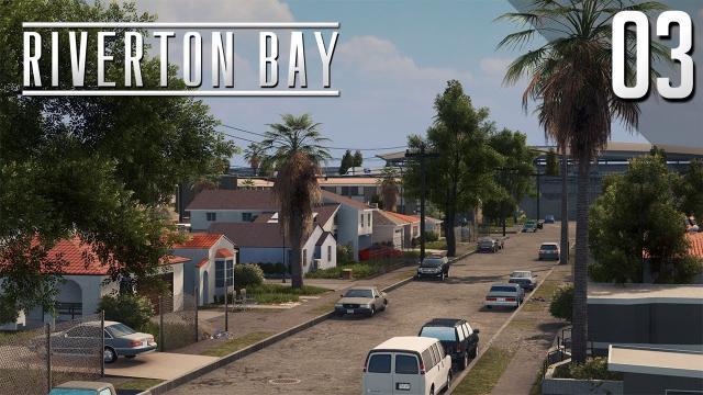 American Suburbs - Cities Skylines: Riverton Bay - 03