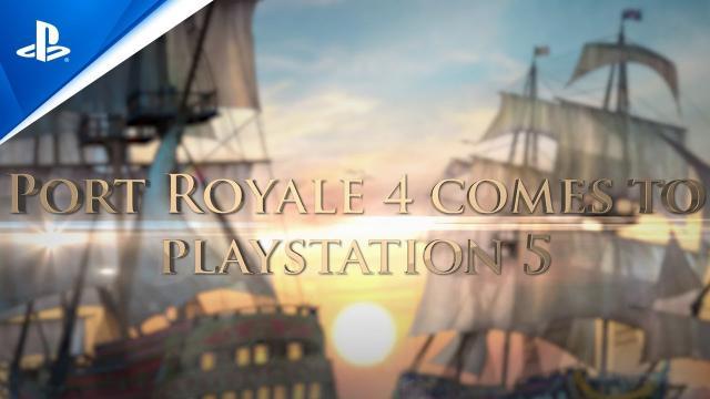 Port Royale 4 - Next Gen Announcement Trailer | PS5