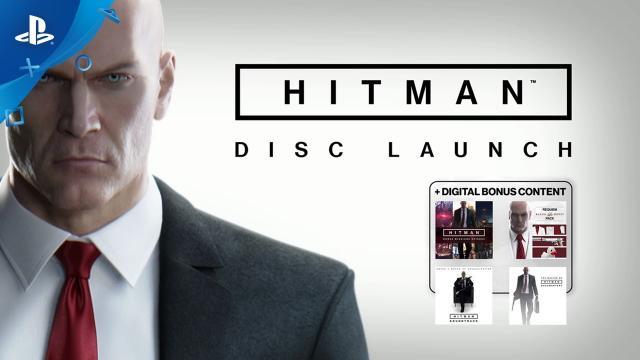 HITMAN - Disc Launch Trailer | PS4