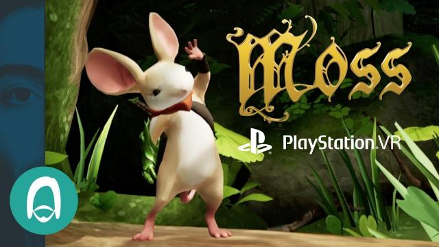 Moss for Playstation VR - Developer Interview and Hands On at E3 2017 - 4K
