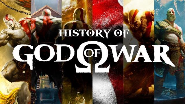 The History Of God Of War