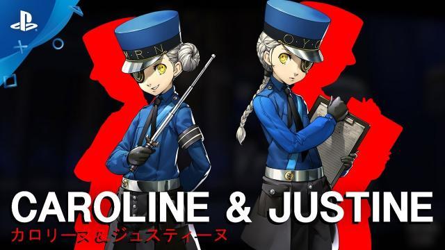 Persona 5 - Caroline & Justine Confidant Trailer | PS4
