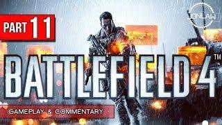 Battlefield 4 Walkthrough - Part 11 TRANSPORT - Let's Play Gameplay&Commentary BF4