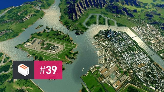 Let's Design Cities Skylines — EP 39 — Terraforming, a Little Bit