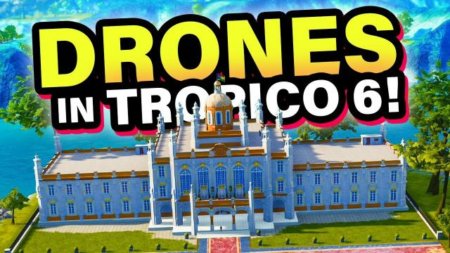 Taking over the Caribbean with DRONES! | Tropico 6: Caribbean Skies (#1)