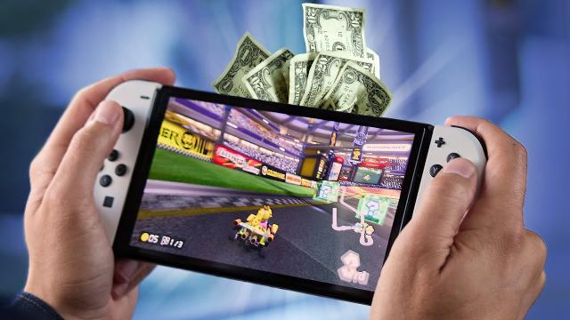 Why is the OLED Switch more money? ????