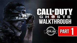 Call of Duty Ghosts Walkthrough - Part 1 Ghost Stories - Let's Play Gameplay&Commentary