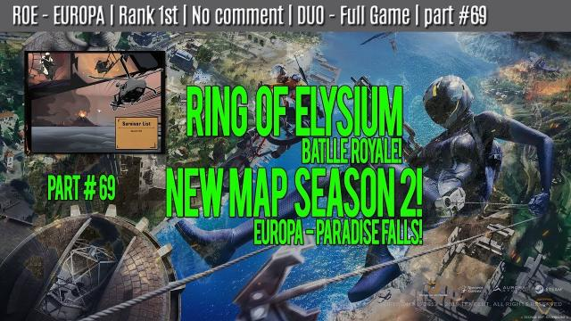 ROE - EUROPA | Rank 1st | No comment | DUO - Full Game | part #69