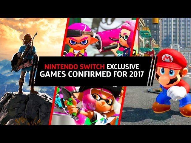 Nintendo Switch Console Exclusives Confirmed For 2017