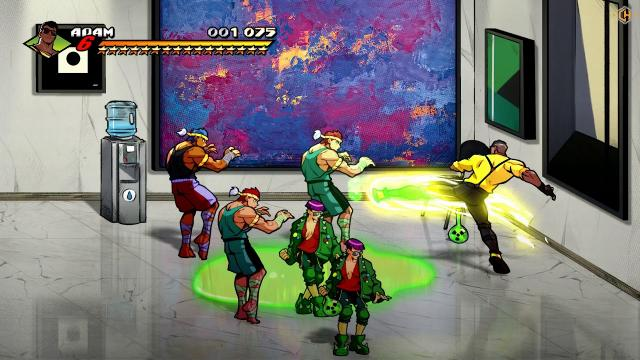 Streets of Rage Trainer +7