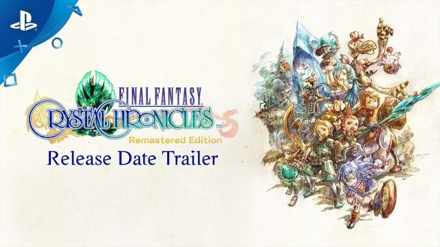Final Fantasy Crystal Chronicles Remastered Edition - Release Date Announce Trailer | PS4