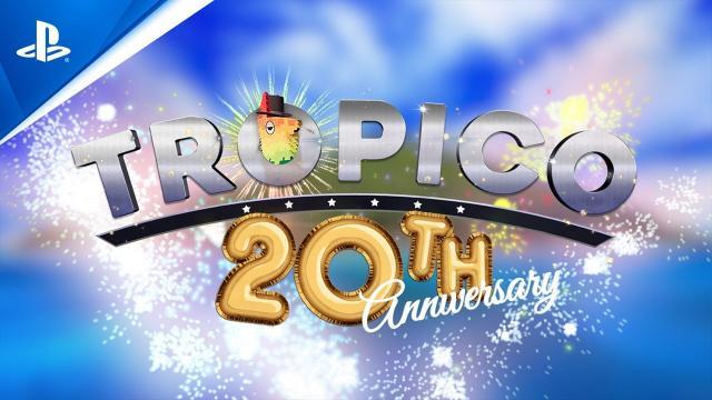 Tropico - 20th Anniversary Trailer | PS4
