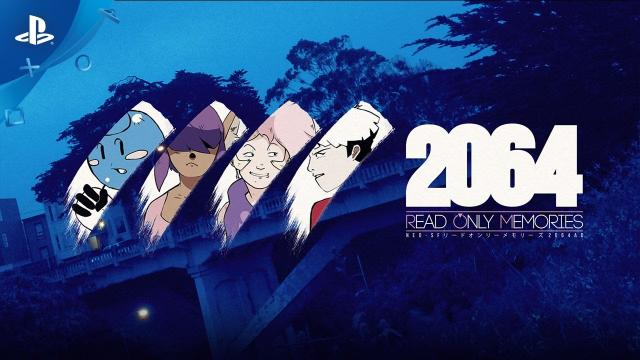 2064: Read Only Memories - Launch Trailer | PS4