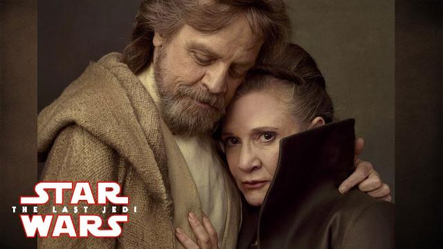Star Wars Episode 8: The Last Jedi - HUGE REVEALS! New Images of Luke, Leia, Kylo Ren and Rey!