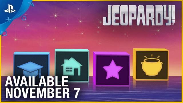 Jeopardy - Launch Trailer | PS4