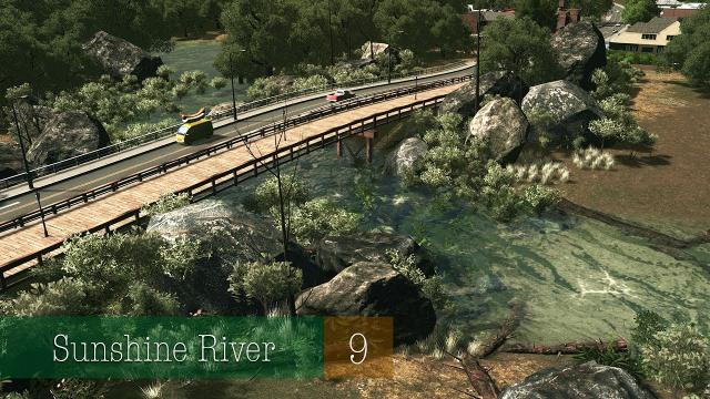 NEW VILLAGE & SMALL INDUSTRIAL AREAS - Cities Skylines: Sunshine River - ep.9