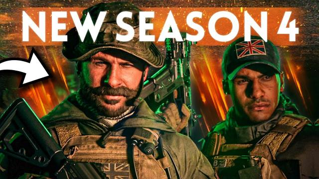 NEW SEASON 4 DETAILS: New Weapons, Maps, Operators & MORE - Modern Warfare / Warzone Update!