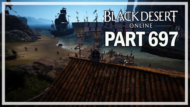 MATERIAL BARTERING - Dark Knight Let's Play Part 697 - Black Desert Online