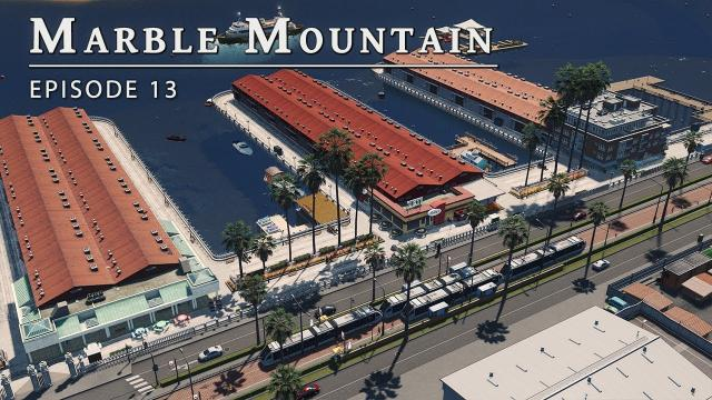 Lake Side Light Rail - Cities Skylines: Marble Mountain EP 13