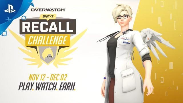 Overwatch - Mercy's Recall Challenge | PS4