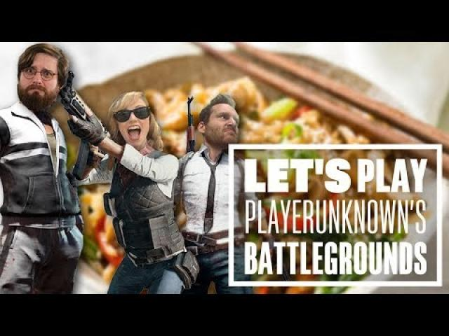 Let's Play PUBG gameplay with Johnny, Ian and Aoife - Chicken Stir Fry?!