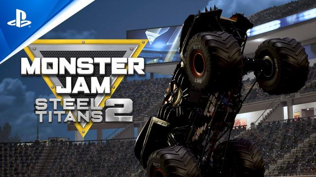 Monster Jam Steel Titans 2 - Announcement Trailer | PS4
