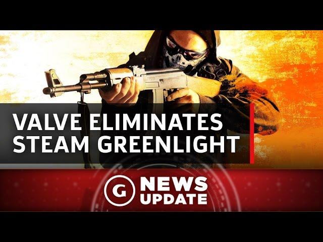 Steam Eliminates Greenlight This Spring - GS News Update