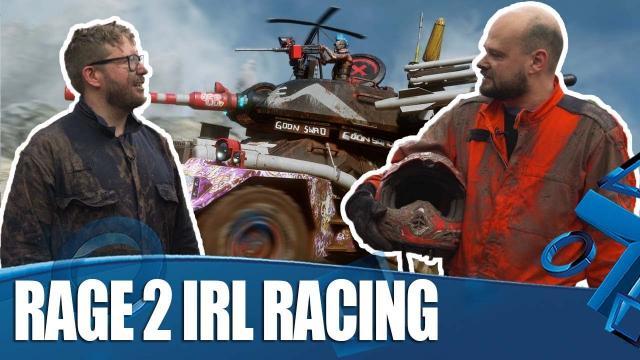 Rage 2 IRL - 'Extreme' Banger Racing Challenge