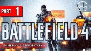 Battlefield 4 Walkthrough - Part 1 BAKU - Let's Play Gameplay&Commentary BF4