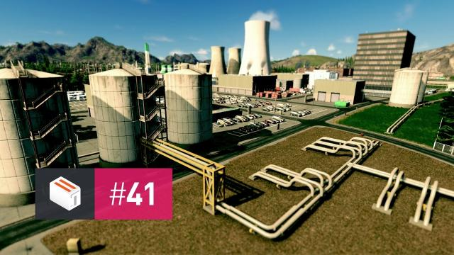 Let's Design Cities Skylines — EP 41 — Laying Down Pipelines