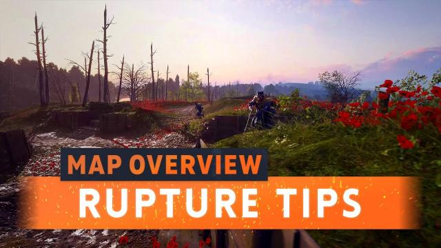 ► RUPTURE: NEW MAP TIPS! - Battlefield 1 They Shall Not Pass DLC