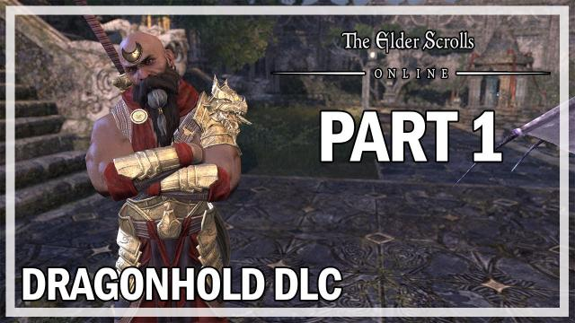 The Elder Scrolls Online Dragonhold - Let's Play Part 1 Lair