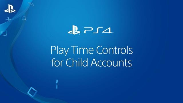 Play Time Controls On PS4 Systems