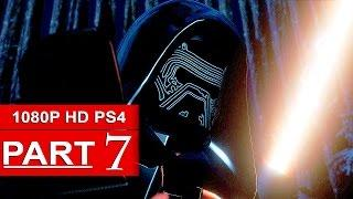 LEGO Star Wars The Force Awakens Gameplay Walkthrough Part 7 [1080p HD PS4] - No Commentary