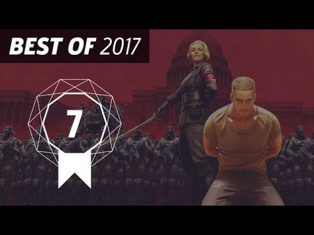 GameSpot's Best of 2017 #7 - Wolfenstein II: The New Colossus