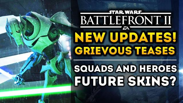 Star Wars Battlefront 2 - New Clone Wars Hero Teases! Emperor