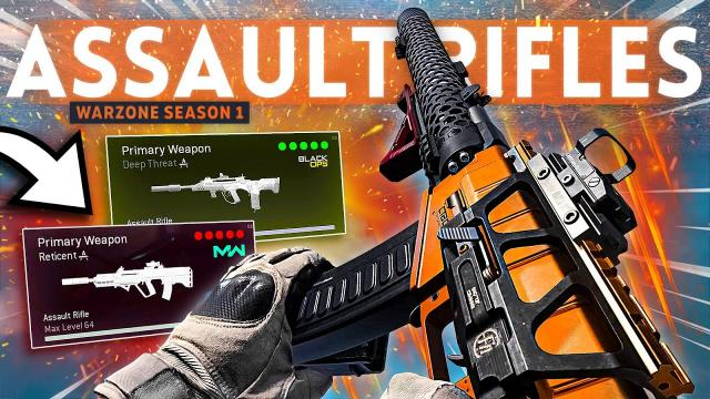 Warzone TOP 5 BEST Assault Rifle Loadouts to use right now! (Best Class Setup)