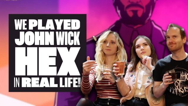 We Played John Wick Hex In Real Life! - The John Wick: Excommunicado Escape Room Experience